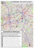 Karte Stadtrallye