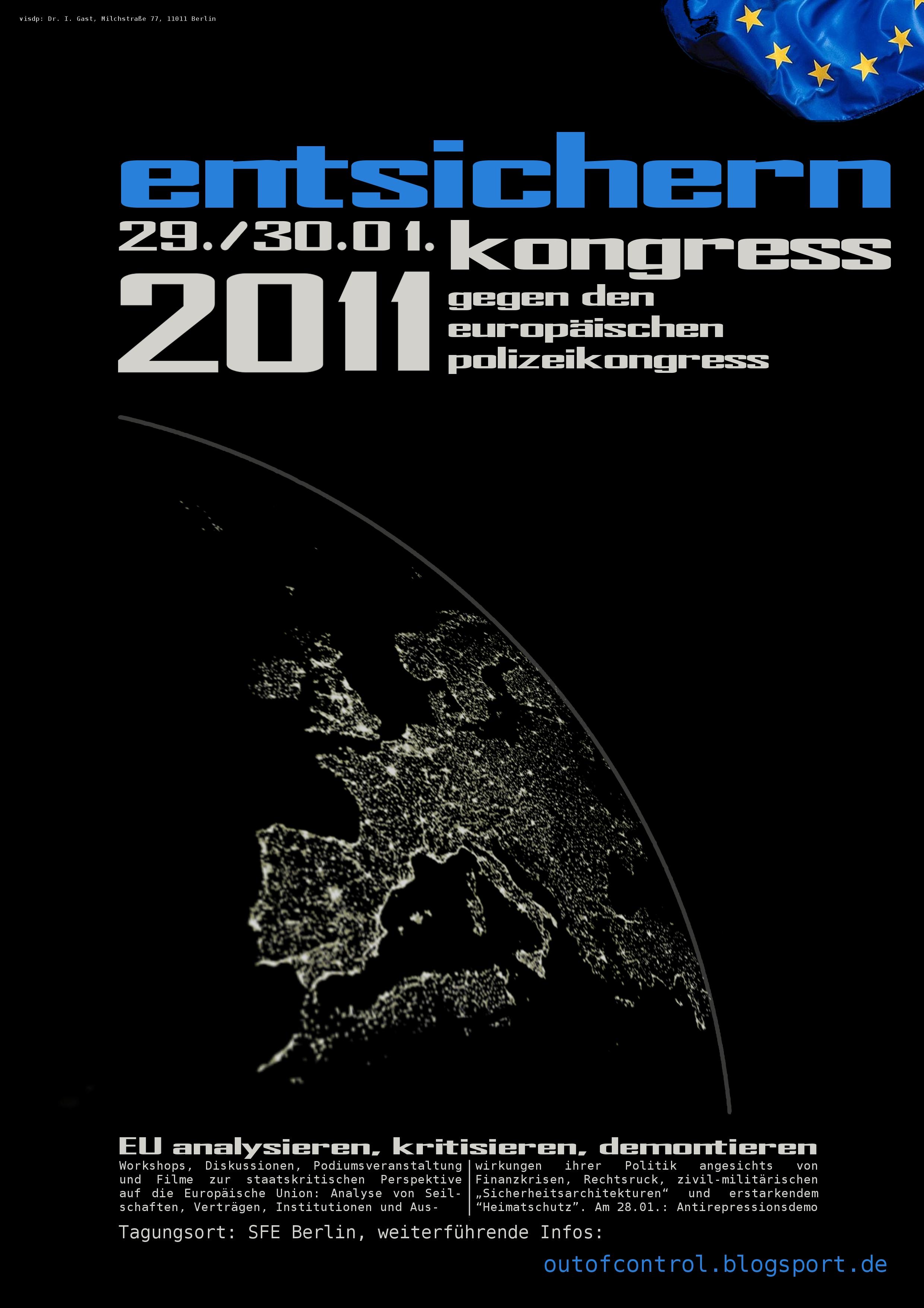 entsichern-Plakat