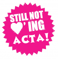 Still not loving ACTA!